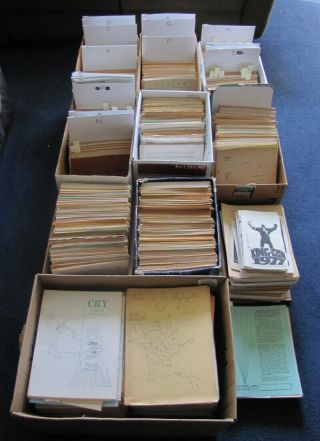 3000,  Rare Science Fiction Fanzines (1930s - 2000s) Scarce Apa Saps Ephemera