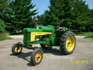 1958 John Deere 530 Lp Gas Propane Antique Tractor Wide Front 3 Pt.