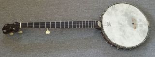 "Antique Thompson & Odell ""artist"" 5 - String Banjo Year 1901,  S/n 2050 Leather Case"