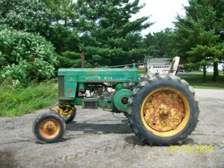 1957 John Deere 720 Gas Antique Tractor Wide Front 3 Point Hitch a b 10