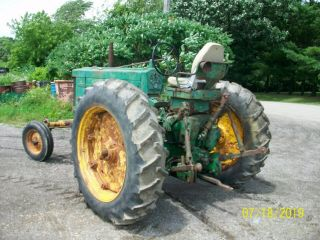1957 John Deere 720 Gas Antique Tractor Wide Front 3 Point Hitch a b 11