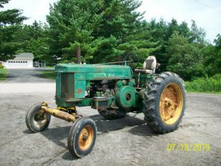 1957 John Deere 720 Gas Antique Tractor Wide Front 3 Point Hitch a b 2
