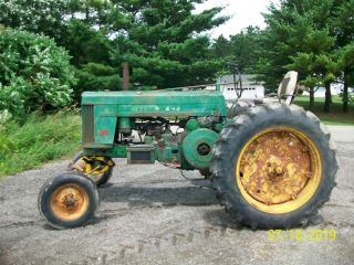 1957 John Deere 720 Gas Antique Tractor Wide Front 3 Point Hitch a b 4