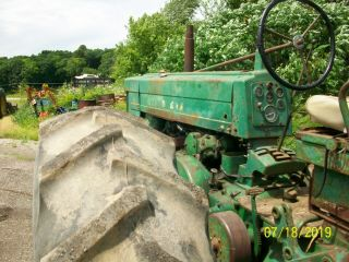 1957 John Deere 720 Gas Antique Tractor Wide Front 3 Point Hitch a b 6