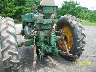 1957 John Deere 720 Gas Antique Tractor Wide Front 3 Point Hitch a b 7