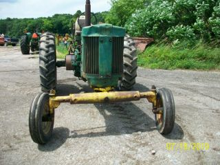 1957 John Deere 720 Gas Antique Tractor Wide Front 3 Point Hitch a b 8