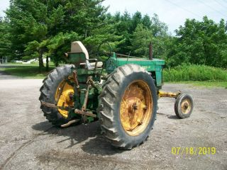 1957 John Deere 720 Gas Antique Tractor Wide Front 3 Point Hitch a b 9