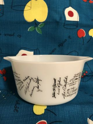 Rare Pyrex Nemacolin Country Club 473 Casserole 3