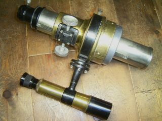 1920 ' s Vintage Bausch & Lomb 4inch f/15 achromat refracting telescope 4