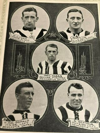 1924 FA CUP FINAL PROGRAMME NEWCASTLE UNITED V ASTON VILLA.  AS RARE AS THEY COME 4