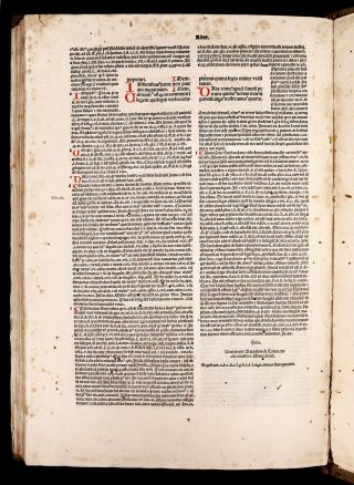 1491 DECRETALS Pope Boniface VIII MEDIEVAL CANON LAW incunable in GOTHIC BINDING 10