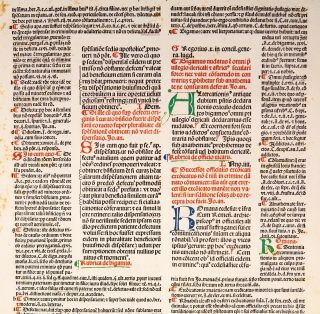 1491 DECRETALS Pope Boniface VIII MEDIEVAL CANON LAW incunable in GOTHIC BINDING 7