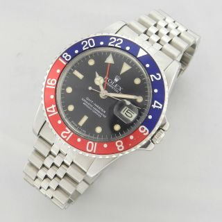 Rolex Gmt - Master Ref.  16750 Vintage Watch 100 1979 Cal.  3075