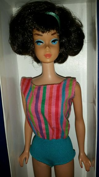 Vintage Barbie Low Color Midnight Sidepart American Girl,  OSS,  Japan OT 3 DAYS 3