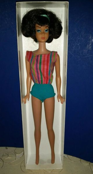 Vintage Barbie Low Color Midnight Sidepart American Girl,  OSS,  Japan OT 3 DAYS 4
