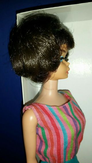 Vintage Barbie Low Color Midnight Sidepart American Girl,  OSS,  Japan OT 3 DAYS 5