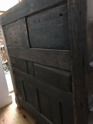 16th century oak cupboard 12