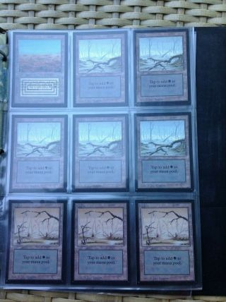 1993 magic the gathering (mtg) international collectors edition full set 10