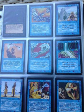 1993 Magic The Gathering (mtg) International Collectors Edition Full Set
