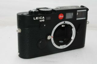 """ Rare Top "" Leica M6 Ttl 0.  72 Japan Model 35mm Rangefinder Camera 2714"
