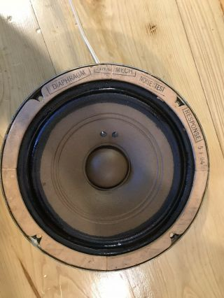 Vintage Extremly Rare Western Electric 755A Speaker 7