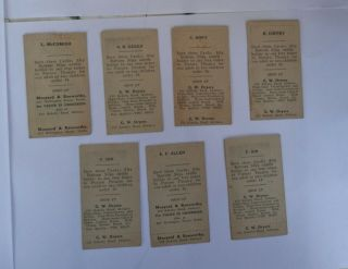 AFL VFL WAFL OLD RARE FOOTBALL CARDS 1920s 30s 2