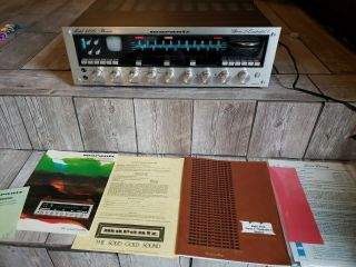 Vintage Marantz Model 4400 Stereo 2 Quadradial 4 Receiver With Case