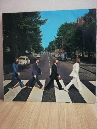 The Beatles - Abbey Road - Ppcs 7088 Uk - Very Rare