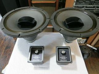 Vintage Altec Lansing 604 - 8g Speakers And Crossovers