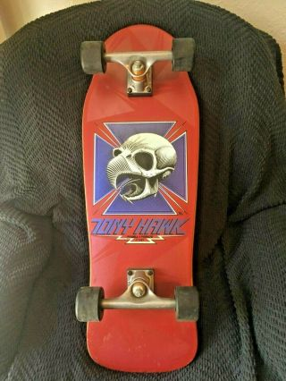 Tony Hawk Powell Peralta 1983 Chicken Skull Skateboard Vintage 1980's