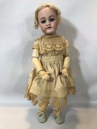 "Antique Germany Bisque Head Doll 79 5n Handwerck Composition Body 13 1/2 "" H"
