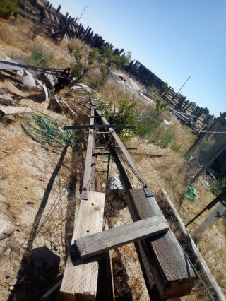 Antique windmill aermotor a702 8 ft windmill with 11ft tower 7