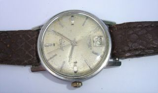 Spares/repair Vintage Longines Conquest Automatic Watch 35mm Gents - 99p Start
