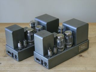 Classic Vintage Quad Ii Valve / Tube Amplifiers,  Serviced,  Ship Worldwide