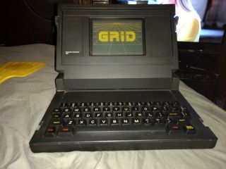 Rare - Grid 1101 Compass Computer Laptop Military Intel 8086,  Bubble Mem