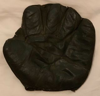 Extremely Scarce Vintage Duckweb Baseball Glove - Turn Of Century