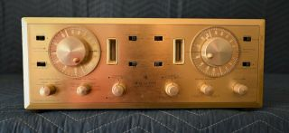 Vintage Hh Scott Type 399 Stereomaster Integrated Vacuum Tube Amplifier Receiver