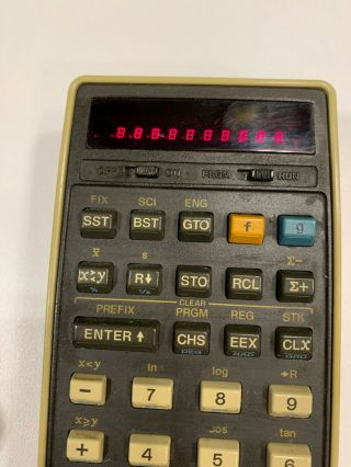 3 Hp 25 Vintage Rpn Scientific Calculator,  Wall Charger,  Usb Charger