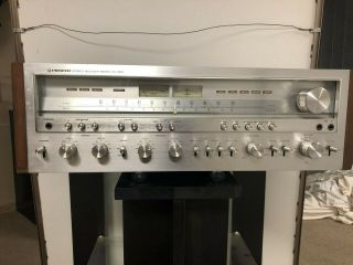 Pioneer Sx 1250 Receiver / Vintage From Owner