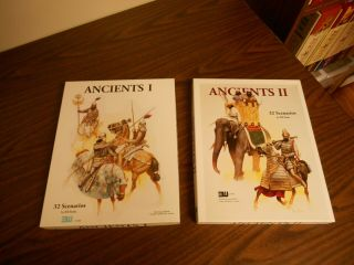 Ancients I,  Ancients Ii Set,  32 Scenarios,  3w 1992,  Complete,  Unpunched