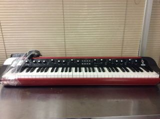 Korg Sv - 1 73 Red Stage Vintage Portable Piano Keyboard