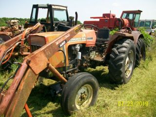 1983 Allis Chalmers 6140 Diesel Loader Antique Tractor Deere A B G H