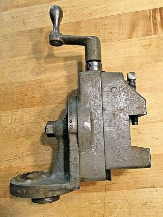 "Milling Attachment For Vintage South Bend 9 "" / 10k Lathe"