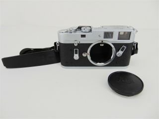 Vintage Leica M4 35mm Rangefinder Film Camera Body Only No.  1191530