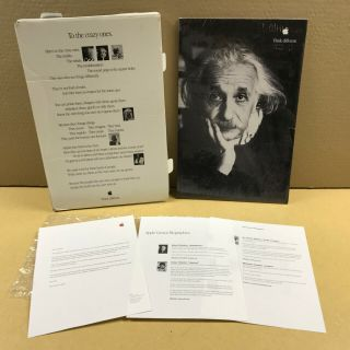 EXTREMELY RARE - triple set of 10 Think different posters Apple Computer 6