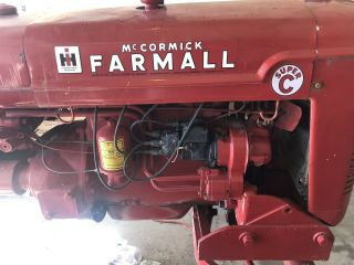 Vintage Farmall c International Harvester tractor 10