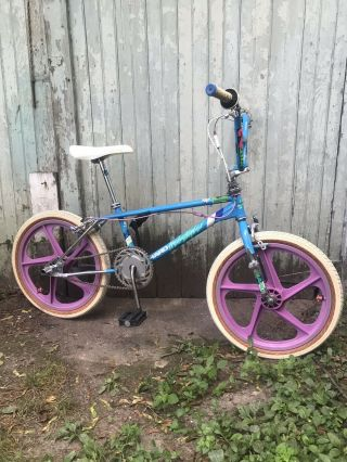 Vintage 86 Haro Sport Bike Freestyler Bmx Old School Survivor