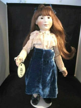"Rare 18 "" Lynne And Michael Roche Doll "" Laura "" 2 Of 6 1999"