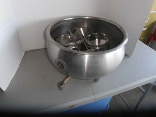 Vintage Delaval Stainless Steel Cream Separator Bowl And Hardware