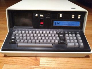 Extremely Rare Vintage 1978 Ibm 5110 Portable Computer With Beamspring Keyboard